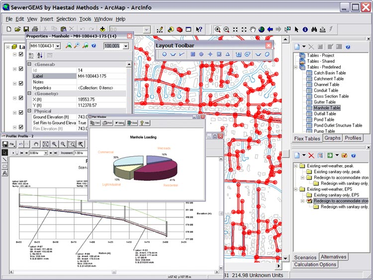 برنامج لتصميم ورسم شبكات الصرف sewergems_large.jpg